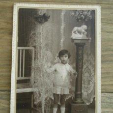 Fotografía antigua: ANTIGUA FOTOGRAFÍA ALBÚMINA . 15 CM X 10 CM . FOTOGRAFIA - ROSSET . ( MATARO ). Lote 45566442