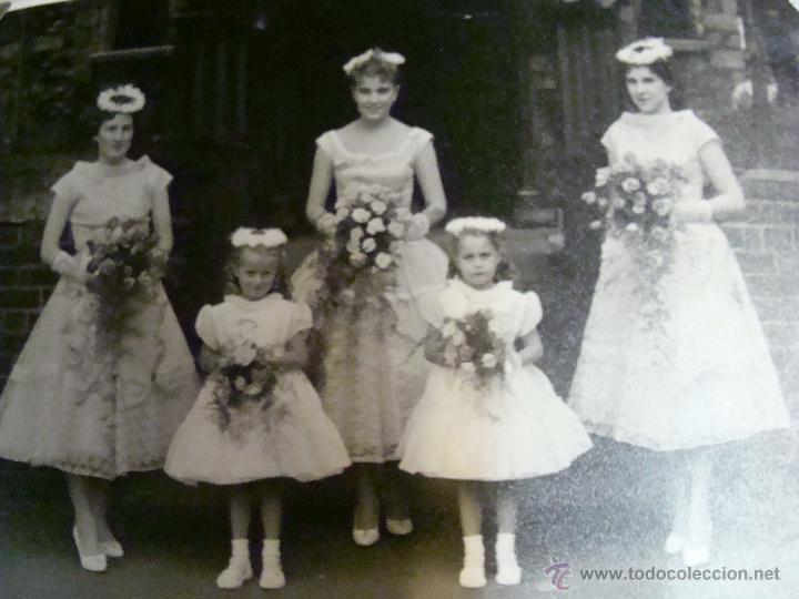 Fotografía antigua: ANTIGUO ÁLBUM DE FOTOS CON REPORTAGE DE BODA 1958 FAMILIA LOVITT Y CLAYTON - Foto 11 - 45232980
