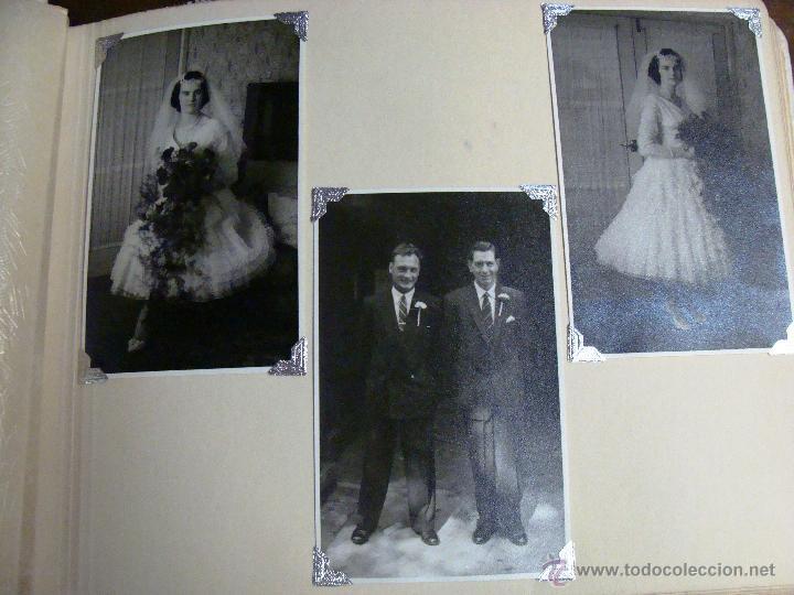 Fotografía antigua: ANTIGUO ÁLBUM DE FOTOS CON REPORTAGE DE BODA 1958 FAMILIA LOVITT Y CLAYTON - Foto 13 - 45232980