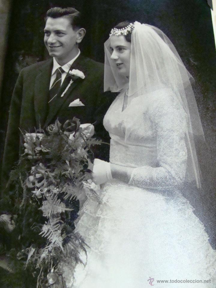 Fotografía antigua: ANTIGUO ÁLBUM DE FOTOS CON REPORTAGE DE BODA 1958 FAMILIA LOVITT Y CLAYTON - Foto 16 - 45232980
