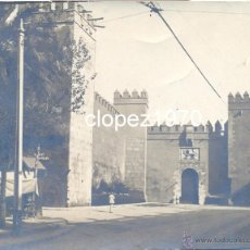 Fotografía antigua: SEVILLA, SIGLO XIX, ALBUMINA DE LA PLAZA DEL TRIUNFO, VER DETALLES, PRECIOSA,96X78MM. Lote 45477438