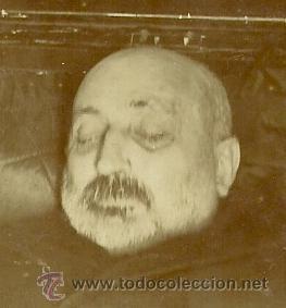 Fotografía antigua: (XJ-11)FOTOGRAFIA ALBUMINA,POST MORTEN DE COSME ECHEVARRIETA (1842-1903) 7,5 X 11,5 CM. - Foto 2 - 45531468