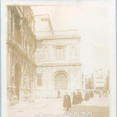 Fotografía antigua: SEVILLA, SIGLO XIX, PRECIOSA ALBUMINA DE LA PLAZA DE SAN FRANCISCO,90X120MM. Lote 45564586