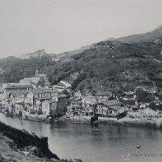 Fotografía antigua: SAN SEBASTIAN AÑO 1891 * PASAJES DE SAN PEDRO * HAUSER Y MENET * FOTOTIPIA 21 X 15 CM. Lote 45761010