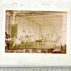 Fotografía antigua: HOSPITAL BONITA ALBÚMINA FINALES SIGLO XIX COMIENZOS SIGLO XX. Lote 45797562