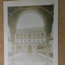 Fotografía antigua: FOTO GRANADA ALHAMBRA PATIO DE LOS ARRAYANES ALBUMINA-1057. Lote 45862010