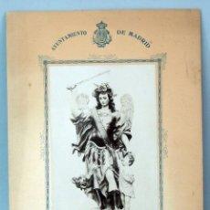 Fotografía antigua - Fotografía Santo Angel de la Guarda Patrono de Maceros Fot Federico Ayuntamiento Madrid - 46093123