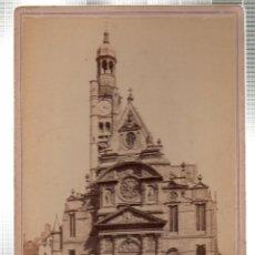 Alte Fotografie - FOTOGRAFIA DE EGLISE ST ETIENNE DU MONT. ED. HAUTECCEUR. PARIS. - 46247532