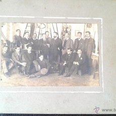 Fotografía antigua: 1908. ESCUELA INDUSTRIAL DE TERRASSA . Lote 46377045