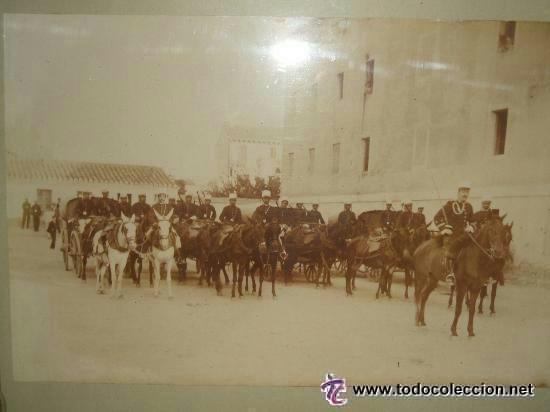 Fotografía antigua: ZARAGOZA MILITARES INTENDENCIA FORMADOS PARA MANIOBRAS FOTOGRAFO CONSTANTINO GRACIA COSO HACIA 1890 - Foto 3 - 46381026
