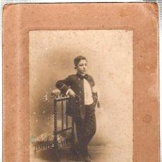 Fotografía antigua: FOTOGRAFIA DEL FOTOGRAFO EL TREBOL. SAN FRANCISCO. CADIZ.. Lote 46419412