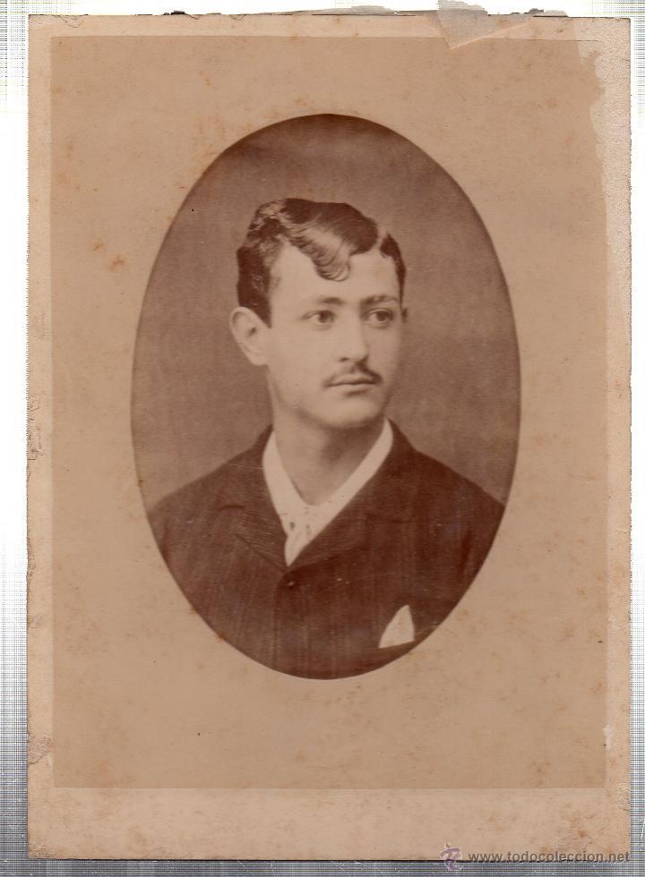 Fotografía antigua: FOTOGRAFIA DE BELLAS ARTES. RAFAEL ROCAFULL Y MONFORT. DUQUE DE TETUAN, CADIZ. - Foto 2 - 46420046