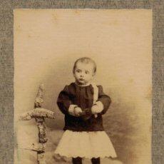 Fotografía antigua: RETRATO DE NIÑA. PRINCIPIOS S. XX. Lote 46717539