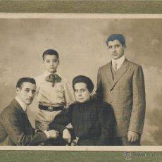 Fotografía antigua: RETRATO DE FAMILIA. PRINCIPIOS S. XX. Lote 46723883