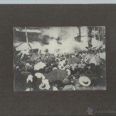 Fotografía antigua: FOTOGRAFÍA ANTIGUA. MADRID, CALLE MAYOR 88, 31 DE MAYO DE 1906. ATENTADO CONTRA ALFONSO XIII.. Lote 46724234