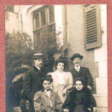 Fotografía antigua: RETRATO DE FAMILIA. PRINCIPIOS S. XX. Lote 46724743