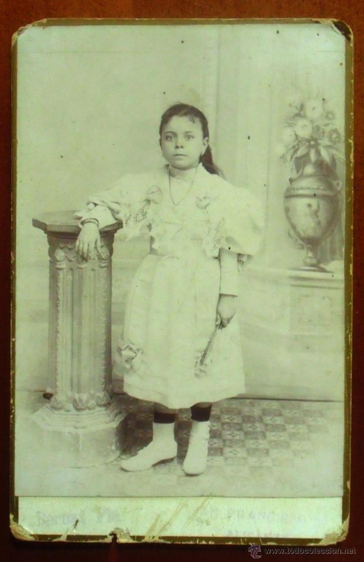 BERNAT PLA. ALICANTE. CALLE SAN FRANCISCO, 52. (Fotografía Antigua - Albúmina)