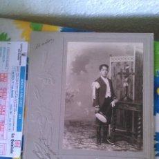 Fotografía antigua: FOTÓGRAFO DE SANTANDER. 1905. Lote 47262075