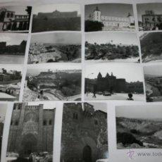 Fotografía antigua: LOTE DE 16 BONITAS FOTOGRAFIAS ANTIGUAS DE TOLEDO, AÑOS 70. Lote 47511988