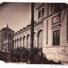 Fotografía antigua: SEVILLA, SAN TELMO, FOTO: LAURENT, MADRID. 24,6X33 CM. SIGLO XIX. Lote 47655359