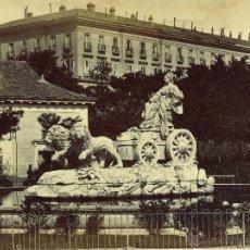 Fotografía antigua - Laurent. Madrid. 337 ( fuente de la Cibeles)cachet.j. Laurent. - 46665715