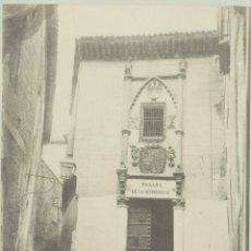 Fotografía antigua: CASIANO ALGUACIL. CÁRCEL DE LA SANTA HERMANDAD.-TOLEDO. Lote 46708276
