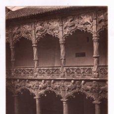 Fotografía antigua: GUADALAJARA, 1452. PALACIO DEL INFANTADO, FOTO: LAURENT, MADRID. 1865-75 APROX. 24,5X33,5CM. Lote 47893313