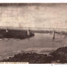Fotografía antigua: CÓRDOBA A MÁLAGA, 521. PUENTE SOBRE EL GUADALQUIVIR, FOTO: LAURENT, 1865-70 APROX. 24X34 CM.. Lote 47893616