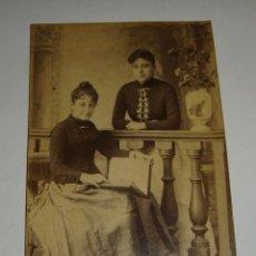 Fotografía antigua: ANTIGUA FOTOGRAFÍA. ALBUMINA. S.XIX.. Lote 47915831