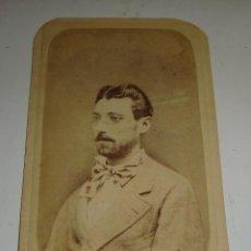 Fotografía antigua: ANTIGUA FOTOGRAFÍA. ALBUMINA. S.XIX.. Lote 47916131