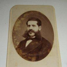 Fotografía antigua: ANTIGUA FOTOGRAFÍA. ALBUMINA. S.XIX.. Lote 47916298