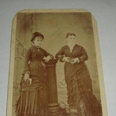 Fotografía antigua: ANTIGUA FOTOGRAFÍA. S.XIX. ALBUMINA. . Lote 47951594