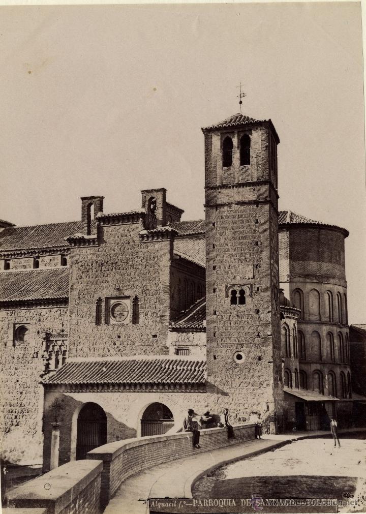 ALGUACIL. TOLEDO PARROQUIA DE SANTIAGO (Fotografía Antigua - Albúmina)