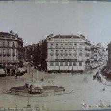 Fotografía antigua - nº 42.Madrid.La Puerta del Sol. Fotógrafo J.Laurent.Madrid - 48099336
