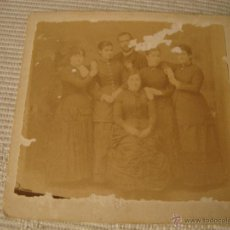 Fotografía antigua: ANTIGUA FOTOGRAFIA ORIGINAL. Lote 48301480