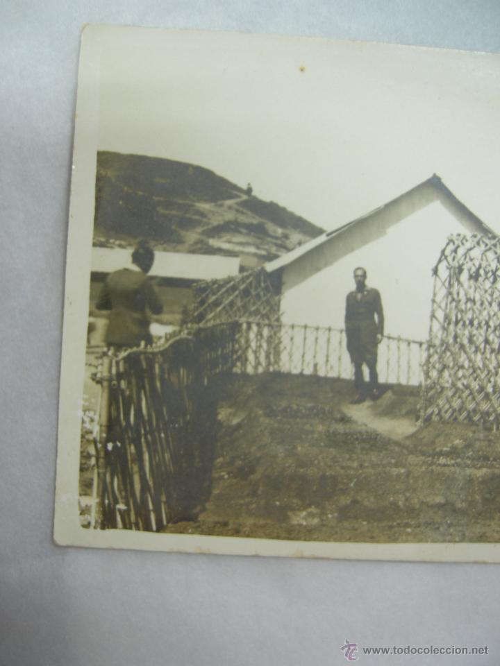Fotografía antigua: fantastica foto-postal militar en africa,rara por su arquitectura arte africano en const. militar - Foto 4 - 27304456
