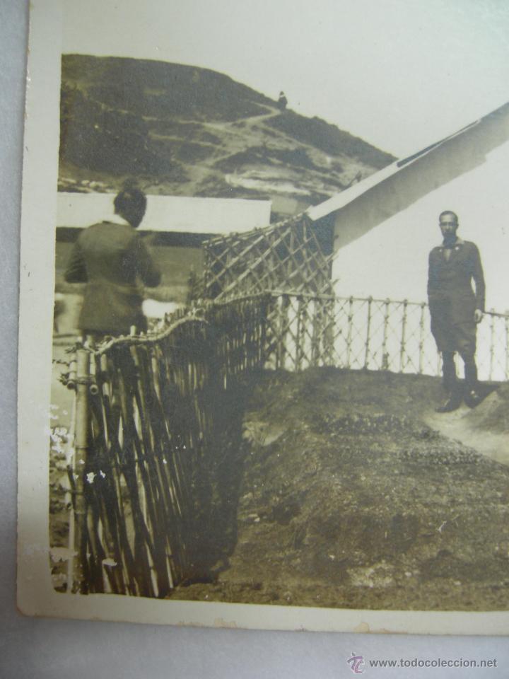Fotografía antigua: fantastica foto-postal militar en africa,rara por su arquitectura arte africano en const. militar - Foto 5 - 27304456