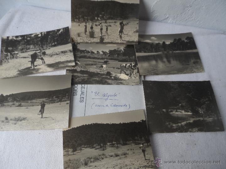 FOTO EL ALGARBE TERRIENTE TERUEL SIERRA ALBARRACIN LOTE DE 6 FOTOS (Fotografía Antigua - Albúmina)