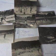 Fotografía antigua: FOTO EL ALGARBE TERRIENTE TERUEL SIERRA ALBARRACIN LOTE DE 6 FOTOS. Lote 48437387