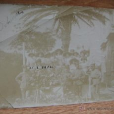 Fotografía antigua: MILITARES EN TETUAN - AÑO 1912. Lote 48562416