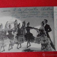 Fotografía antigua: FOTO DEDICADA PACO DE LUCIO FLAMENCO EL CORTIJO - FIESTA BALLET FOTO DE LOS AÑOS 60. Lote 48584886