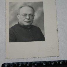 Fotografía antigua: FOTOGRAFIA ANTIGUA, RELIGIOSO, SACERDOTE, ALFONSO FOTOGRAFO. Lote 48585740