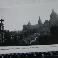 Fotografía antigua: FOTOGRAFIA ANTIGUA, PALACIO DE MONTJUIC, BARCELONA AÑOS 30-40, FOTO. Lote 48589782