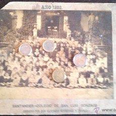 Fotografía antigua: 1893 SANTANDER COLEGIO DE SAN LUIS GONZAGA DE SANTIAGO GUTIERREZ FRANCO. Lote 49026511