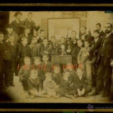 Fotografía antigua: ESCUELA - 1890'S. Lote 49310047