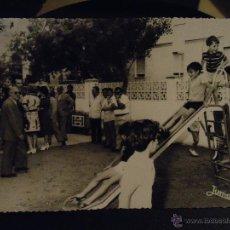 Fotografía antigua: FOTOGRAFIA CADIZ FOTOS REFERENCIA JUMAN - INAUGURACION PARQUE INFANTIL . Lote 49327838