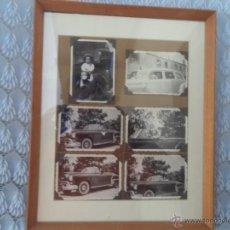 Fotografía antigua: 6 FOTOGRAFIAS ANTIGUAS DE COCHES. Lote 49429895
