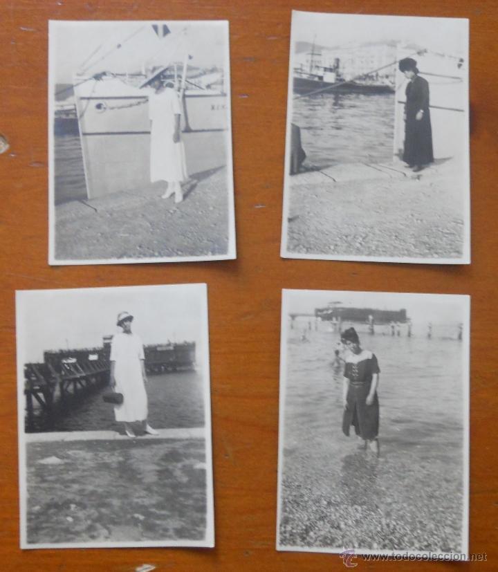 TRIESTE AÑOS 20 (Fotografía Antigua - Albúmina)