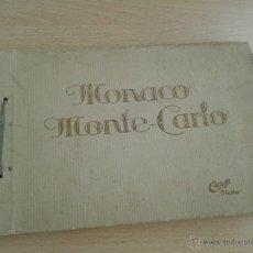 Fotografía antigua: ANTIGUO ALBUM DE 20 FOTOS DE MONACO MONTE CARLO ORIGINAL. Lote 54624845
