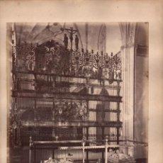 Fotografía antigua: GRANADA, 2176. CATEDRAL, SEPULCROS DE LOS REYES CATÓLICOS, FOTO: LAURENT, MADRID.. Lote 50101774